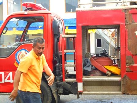 Kepala Seksi Bina Program dan Pemeliharaan pada Dinas Damkar Kab. Garut, Asep Kusmawan.