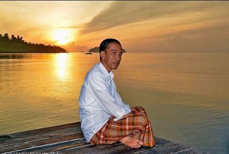 Presiden Jokowi. (Tim Komunikasi Presiden/Agus Suparto).