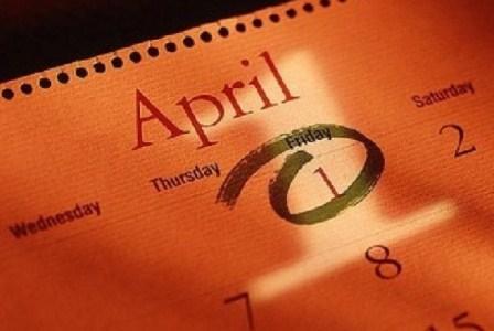 1 April (April Mop) / ilustrasi. (Republika ).