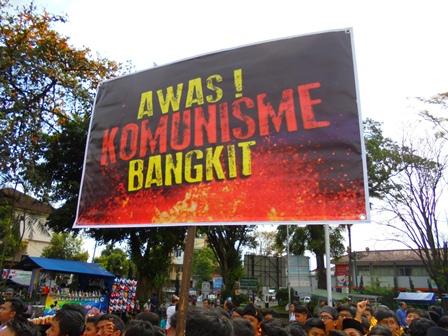 Ribuan Komponen dan Elemen Masyarakat Garut, Kecam Paham Komunisme, dan Radikalis.