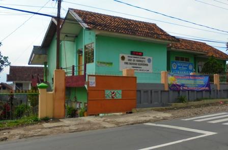 Kampus SMK Mandiri Kadungora, Seluas Sekitar 2,5 Hektare.