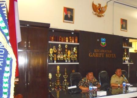Camat Garut Kota Presentasikan Ragam Potensi di Wilayahnya.