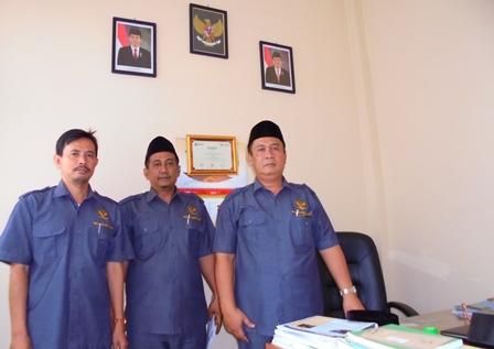 Sebagian Jajaran Pengurus Baznas Kabupaten Garut.