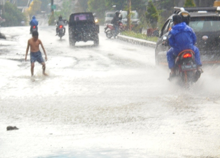 Kerap Tergerus Luapan Banjir.