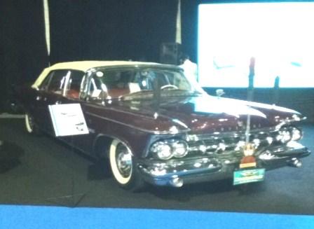 Salah satu mobil Sukarno, Imperial Crown.