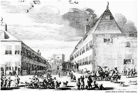 Istana Jenderal JP Coen di Pasar Ikan. (Arsip Nasional).