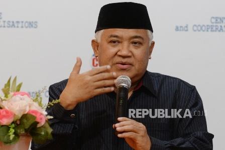 Din Syamsuddin. (Republika/ Yasin Habibi).