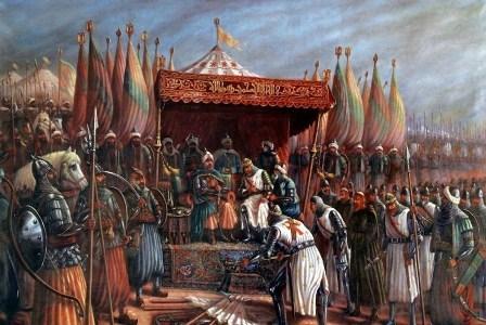 Salahuddin al-Ayubi atau Saladin (ilustrasi). Wikipedia.org