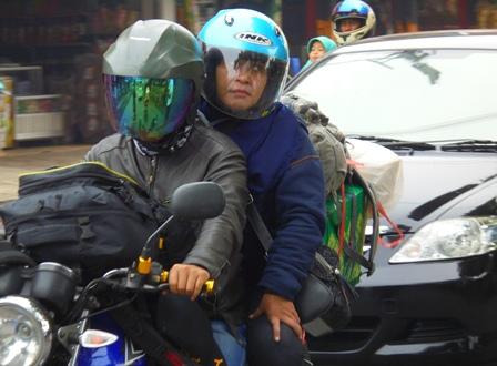 Masih banyak Pemudik Gunakan Sepeda Motor.