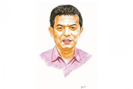 Ikhwanul Kiram Mashuri. (Republika/Daan Ikhwanul Kiram Mashuri).