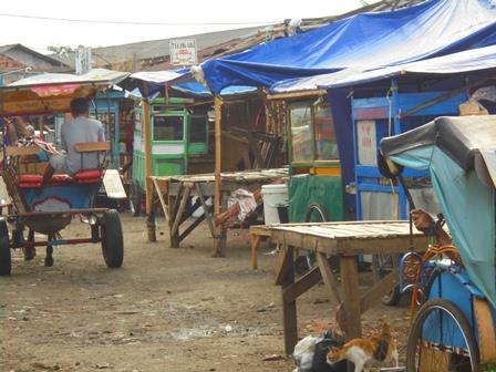 Pasar Ciawitali Guntur Garut.