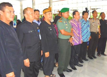 Sunarko Bersama Kalangan Pejabat di Kabupaten Garut.