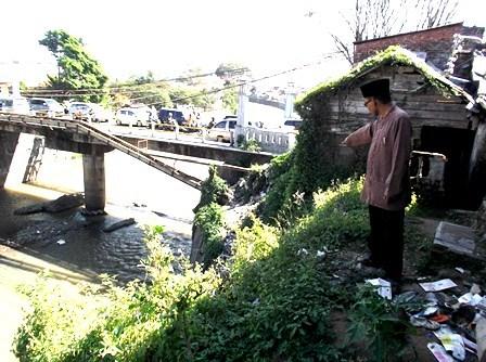 Jembatan Maktal Berkondisi Kian Riskan.