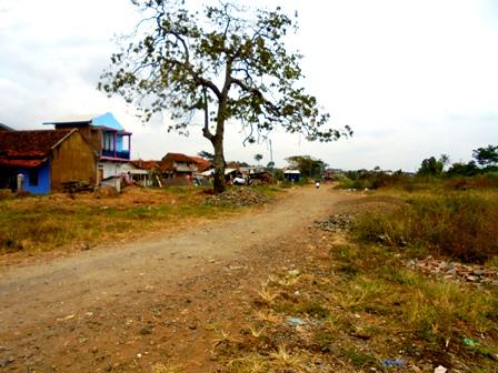 Kondisi Kampung Cimacan Garut, Kamis (27/07-2017).